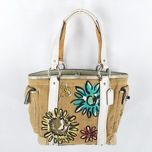 Coach bag limited edition FLOWERS AND BEES